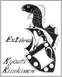 Ex Libris Kyösti Kiiskinen
