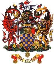 Lordi Howen nykyinen vaakuna Englannista.