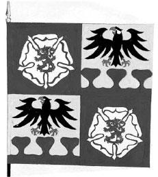 Munkkivuoren res.upseerien lippu (toteutumaton ehdotus)