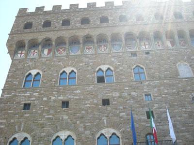 Palazzo Vecchio, kaupungintalo. Kuva: Paula Meuronen