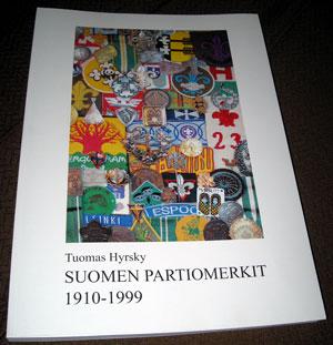 Suomen partiomerkit 1910-1999 kansi